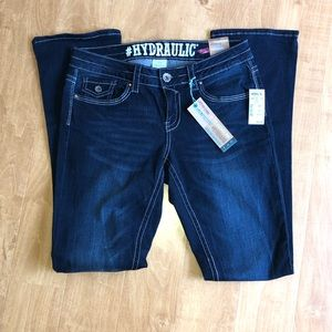 Hydraulic Flare Jeans Size 9/10 NWT